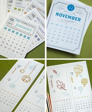 Стильные календари