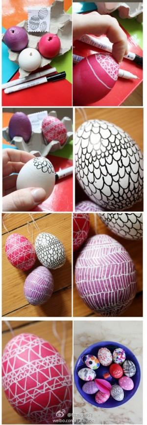 Гирлянда из яиц