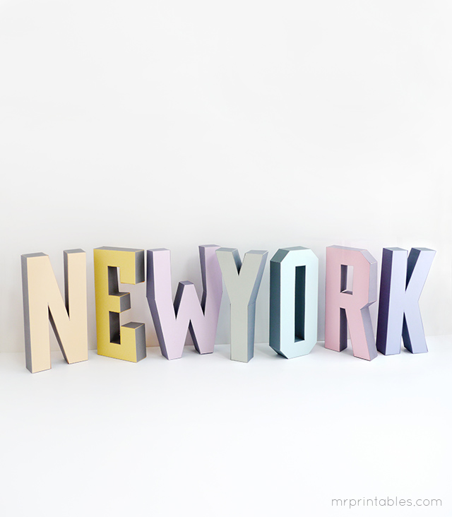 3d-letters-newyork