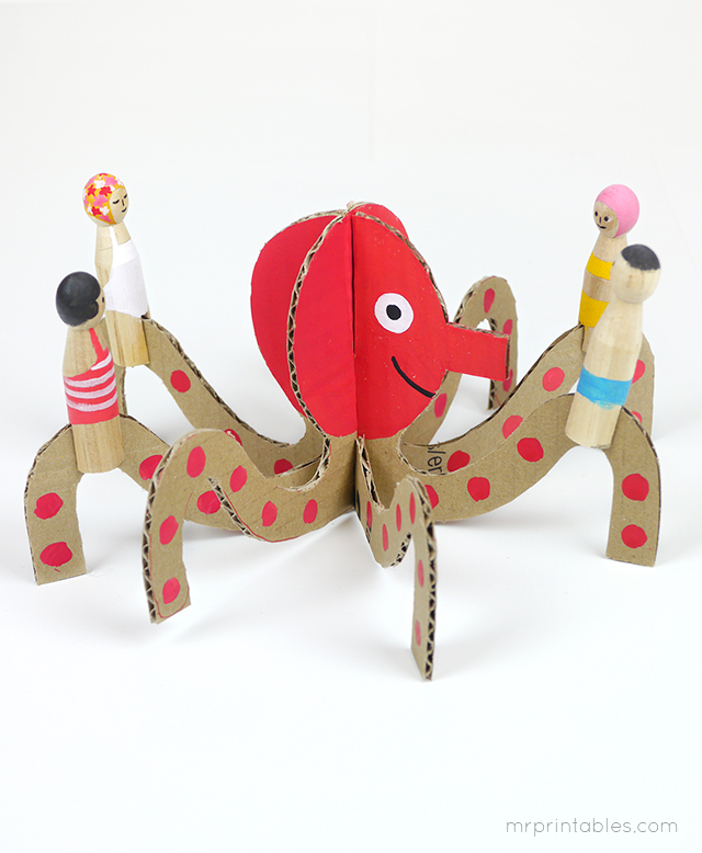 cardboard-octopus-with-peg-dolls