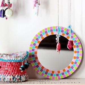 Цветная мозаика как элемент декора