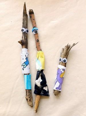 Детские поделки из дерева