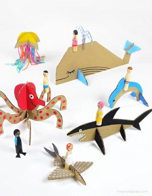 Игрушки из натуральных материалов