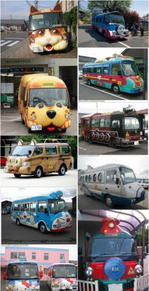 Оригинальный транспорт