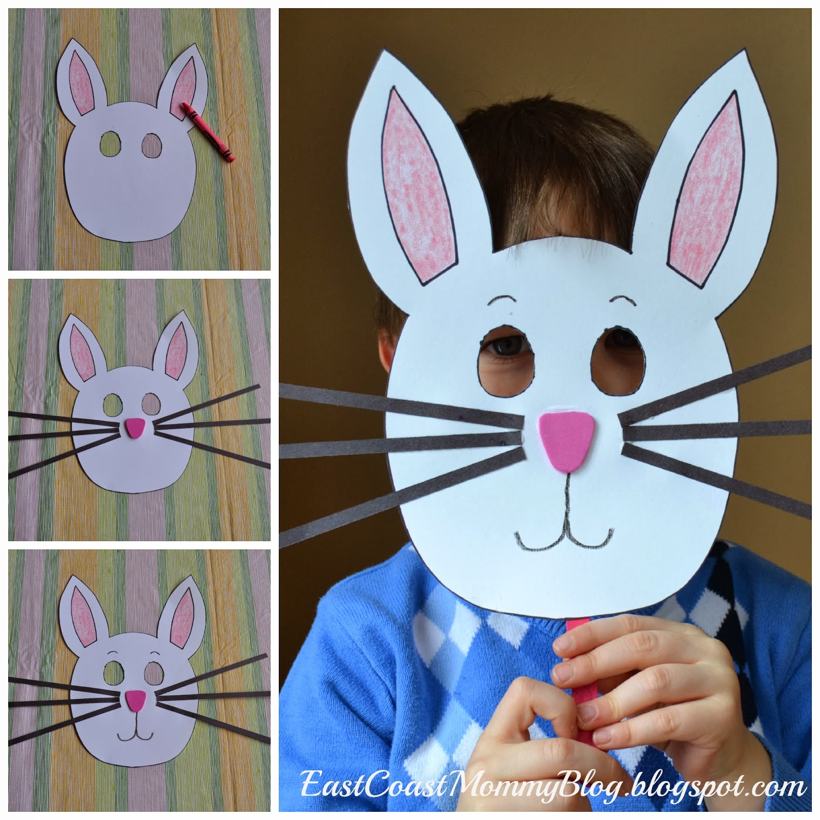 bunny mask tutorial_with template