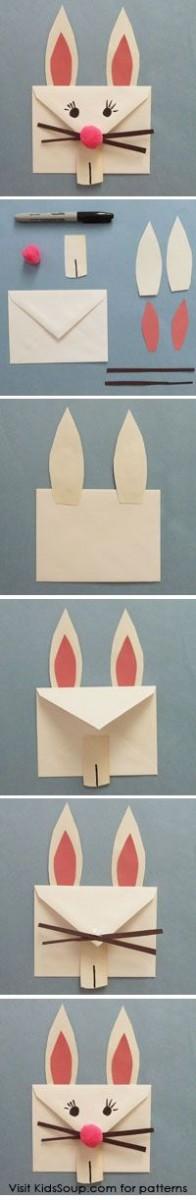 Как сделать пасхальный конверт