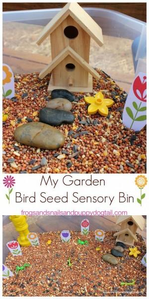 Сенсорная коробка Весна