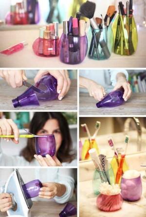 Делаем из пластиковых бутылок удобные вещи