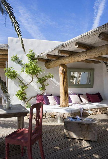 испанский летний домик
